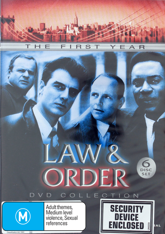 Law & Order - The 1st Year Collection on DVD
