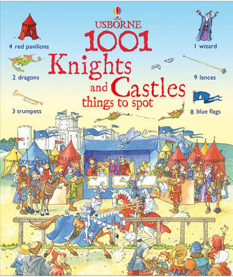 1001 Knights and Castle Things to Spot by Hazel Maskell image