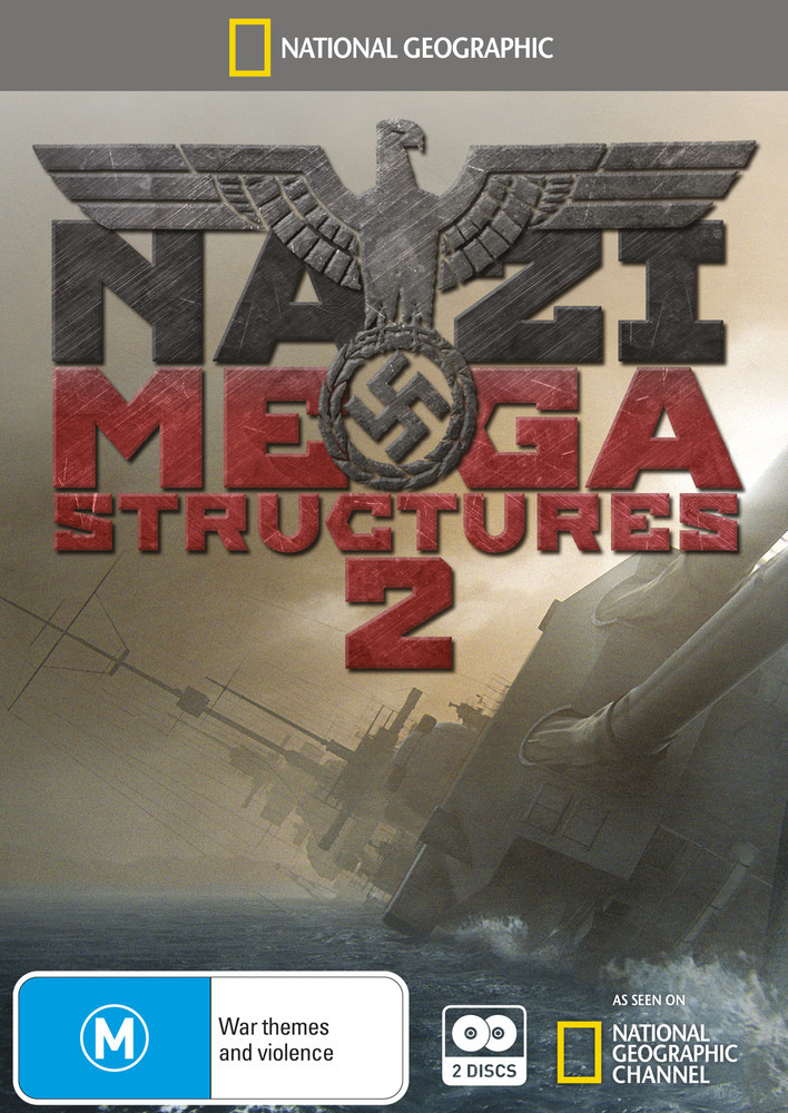National Geographic: Nazi Megastructures 2 on DVD image