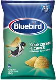 Bluebird Original Cut - Sour Cream & Chives (150g)