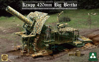Takom1/35 Krupp 420mm Big Bertha- Model Kit