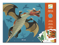 Djeco: Paper Toys - Dragons
