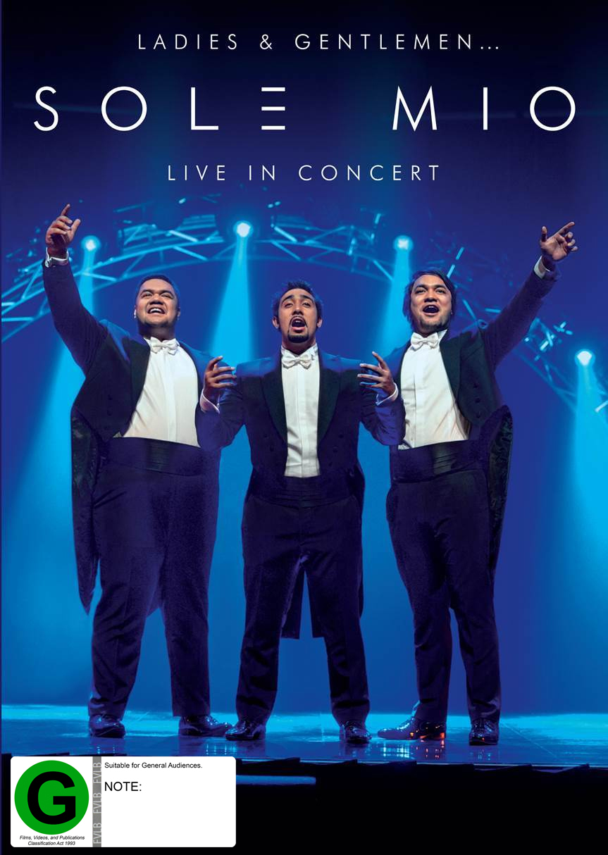 Sol3 Mio Live in Concert on DVD image