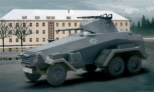 Italeri: 1/72 SD.KFZ. 231 6 Radio - Model Kit image
