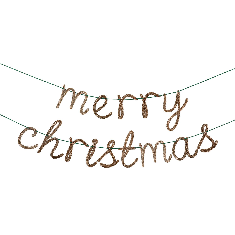 Meri Meri Merry Christmas Garland Images At Mighty Ape Nz