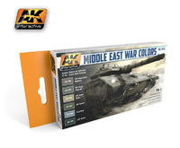 AK Middle East War Colours Paint Set 1