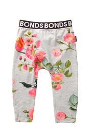 Bonds Stretchy Leggings - Eden Kids New Grey Marle (6-12 Months)