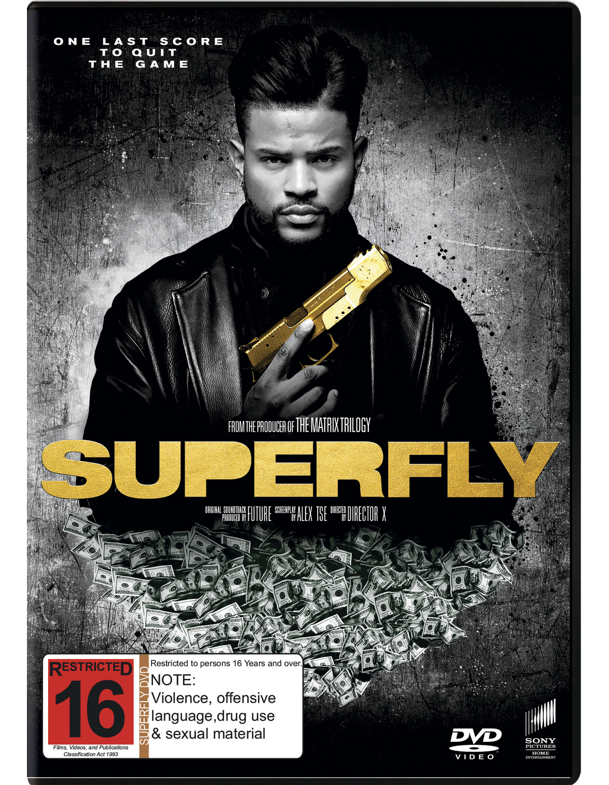 Superfly on DVD image
