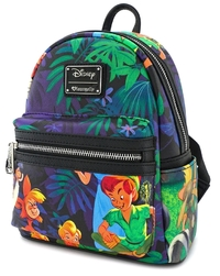 Loungefly: Peter Pan - Print Mini Backpack