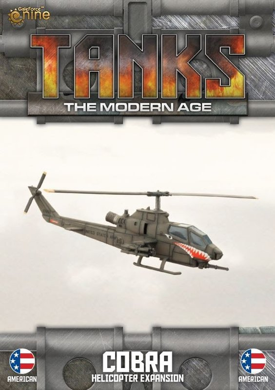 TANKS Modern US Cobra Helicopter
