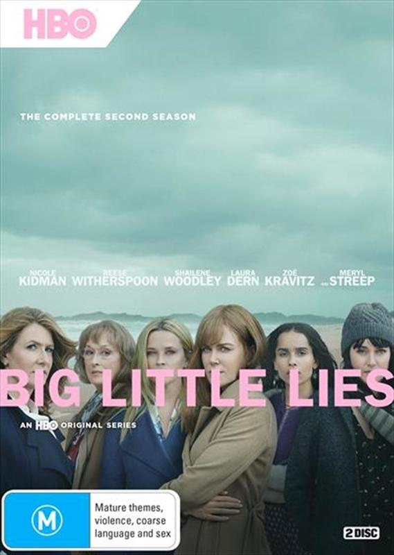 Big Little Lies Season 2 on DVD