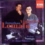 Songs: Brahms,  Faure,  Schubert by Jonathan Lemalu