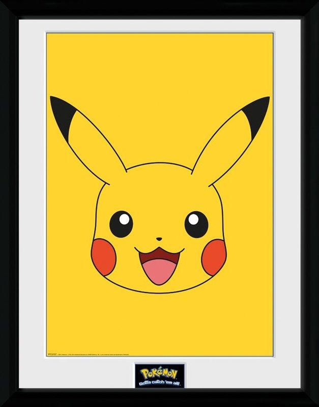Pokemon: Pikachu's Face - Collector Print (41x30.5cm)