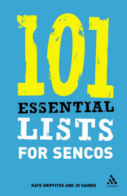 101 Essential Lists for SENCOs by Kate Griffiths image