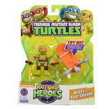 "TMNT Half Shell Hero 2.5"" Figure - Mikey with Skateboard"