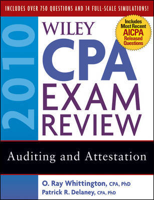 Wiley CPA Exam Review 2010: Auditing and Attestation by Patrick R. Delaney