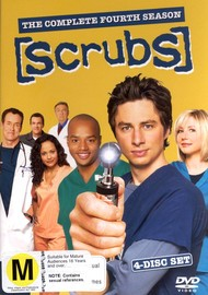 Scrubs - Season 4 on DVD