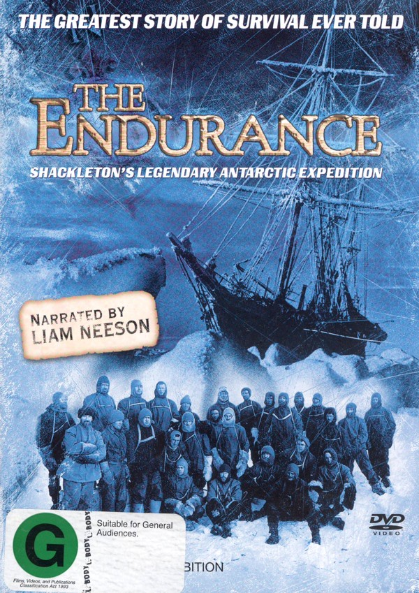 The Endurance on DVD image
