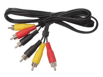 Digitus 3x RCA AV Connection Cable - 5m image
