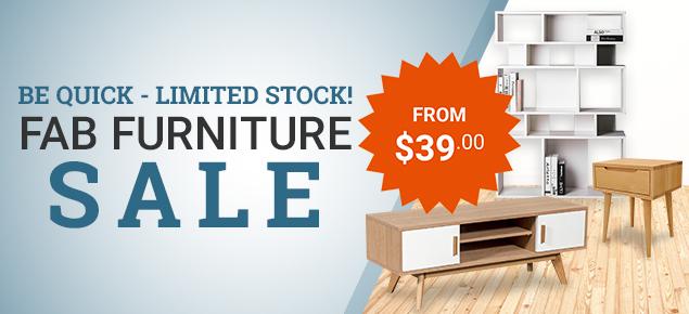 Fab Furniture Sale
