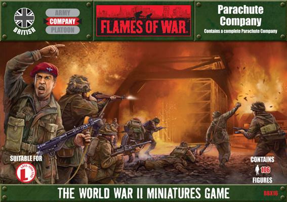 Flames of War - British Parachute Company