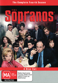 The Sopranos - The Complete Fourth Season on DVD image