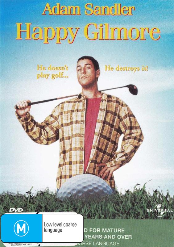 Happy Gilmore on DVD