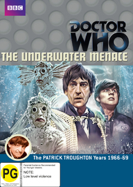 Doctor Who: Underwater Menace on DVD