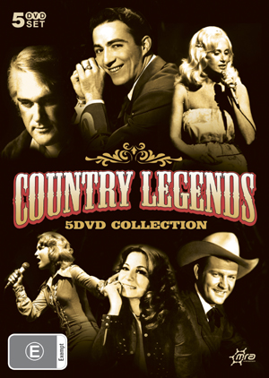 Country Legends - 5 DVD Collection (5 Disc Box Set) on DVD image