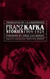 Franz Kafka Stories 1904-1924 by Franz Kafka image