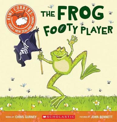 Kiwi Corkers: Frog Footy Player by Chris Gurney