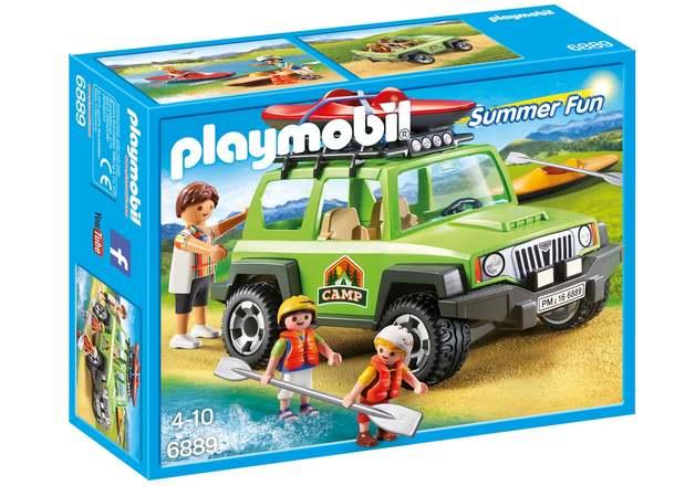Playmobil: Summer Fun - Off-Road SUV