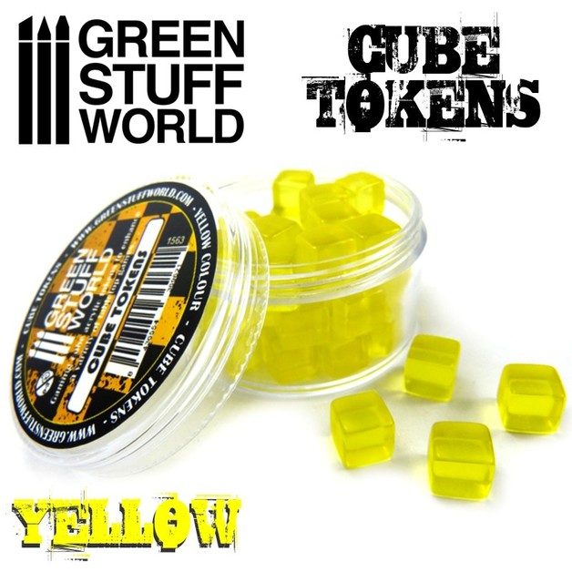 Yellow Cube tokens