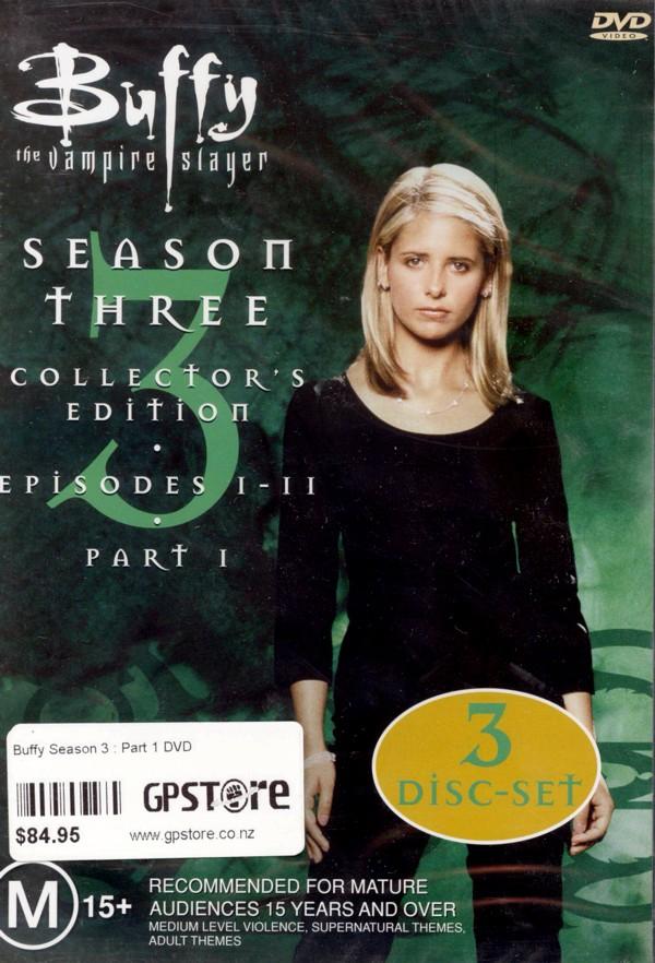 Buffy The Vampire Slayer Season 3 Vol 1 Collection on DVD image