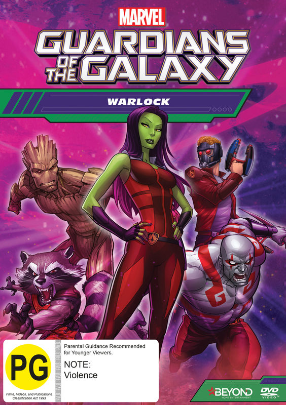 Guardians of the Galaxy: Warlock on DVD
