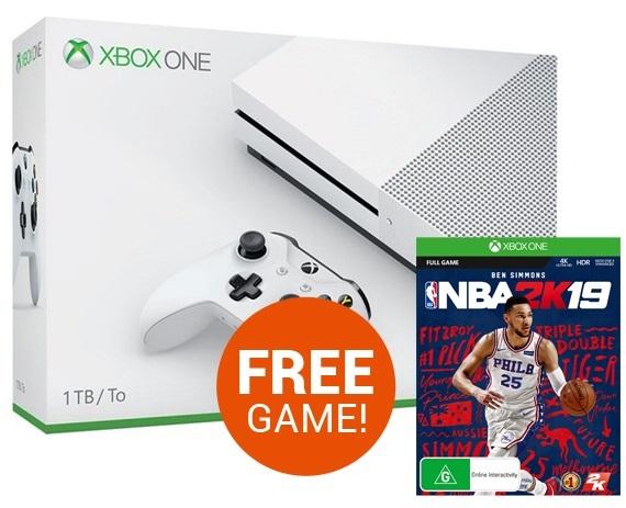 Xbox One S 1TB NBA 2K19 Console Bundle | Xbox One | On