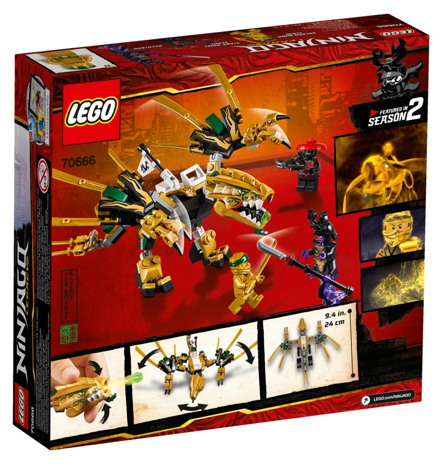 LEGO Ninjago - The Golden Dragon (70666) image