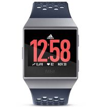 Fitbit Ionic Fitness Watch Adidas Edn. Inkblue & Silver image