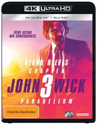 John Wick: Chapter 3 - Parabellum on UHD Blu-ray