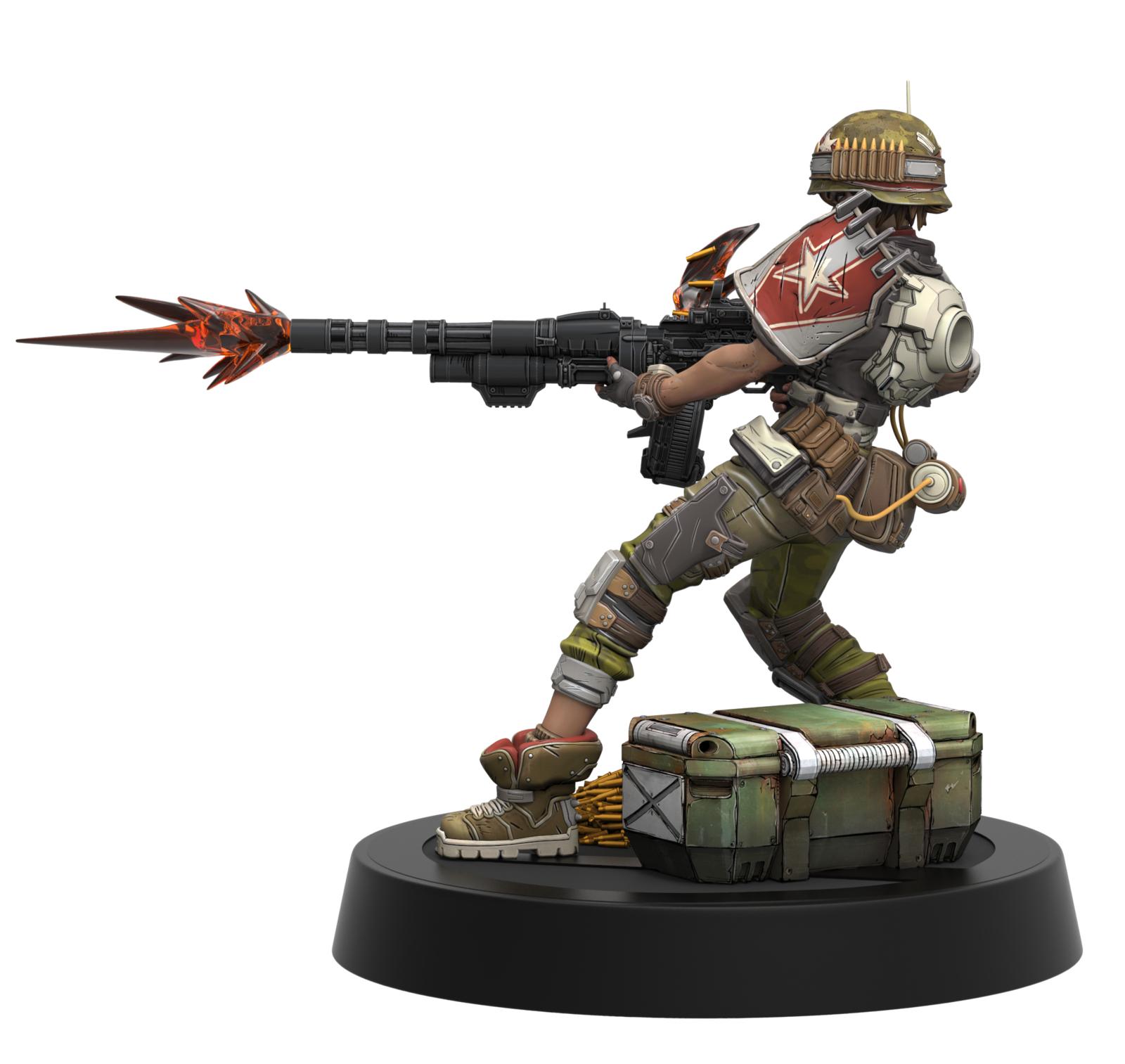 """Borderlands 3: Moze - 9"""" PVC Figure image"""