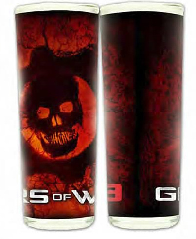 Gears of War 3 Vein Omen Shooter Glass image