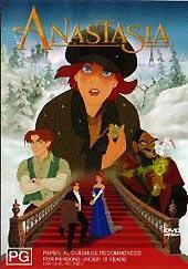 Anastasia on DVD