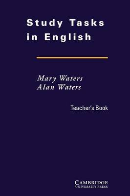 Study Tasks in English Teacher's Book by Mary Waters image