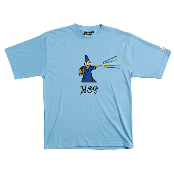 HOS - Tshirt (Sky Blue) for