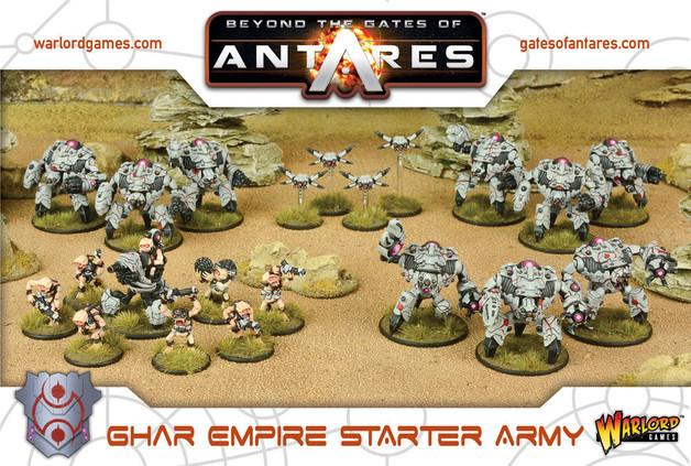 Beyond the Gates of Antares: Ghar Empire Starter Army