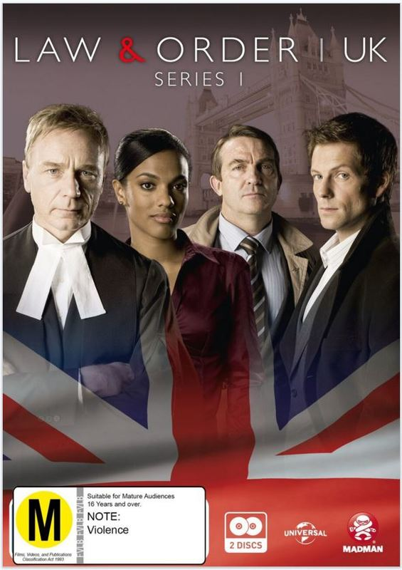 Law & Order UK: Series 1 on DVD