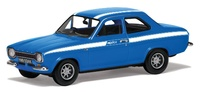 "Corgi: 1/43 Ford Escort Mk1 Mexico ""Electric Monza Blue"" - Diecast Model image"