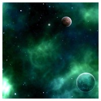 Green Space 1 Terrain Neoprene Gaming Mat (3x3)