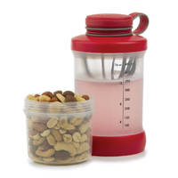 Prep Solutions Shake & Snack - Red