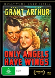 Only Angels Have Wings on DVD